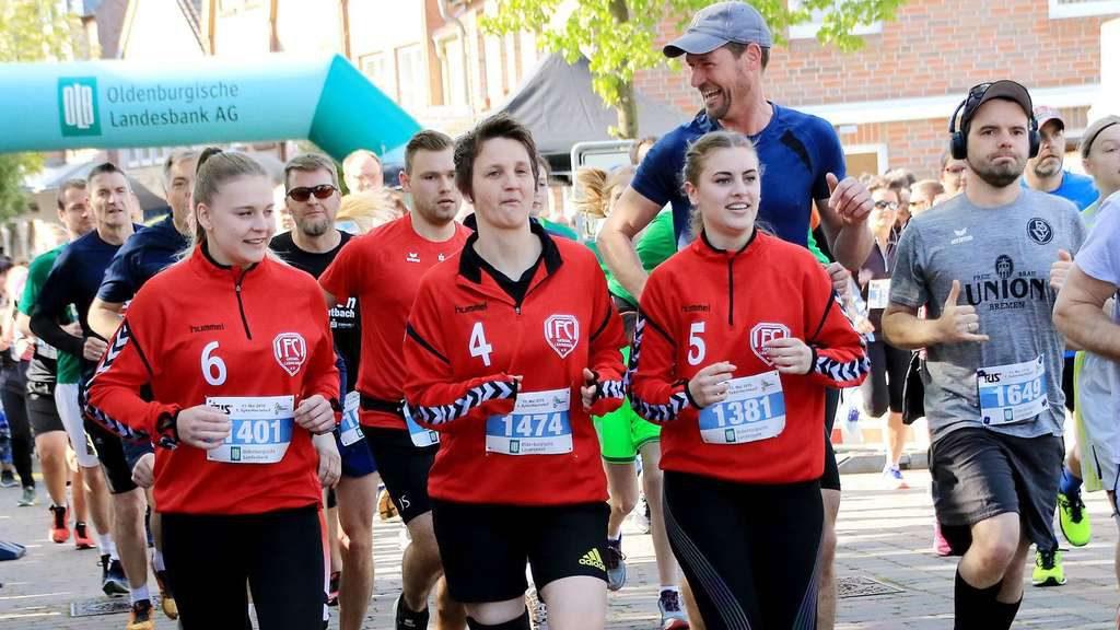 Läufer beim Syker Hachelauf 2019