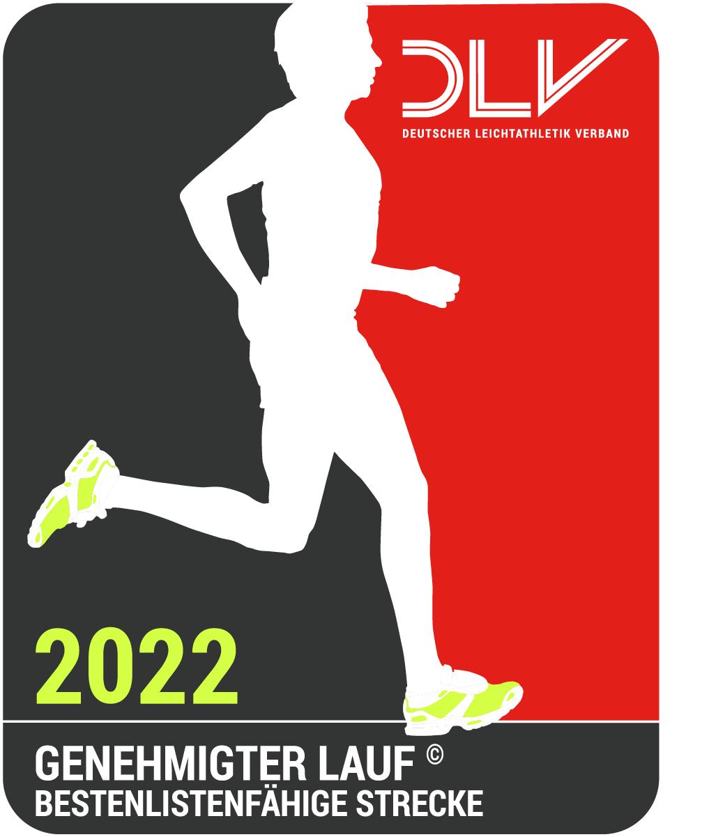 Logo offizieller DLV-Lauf